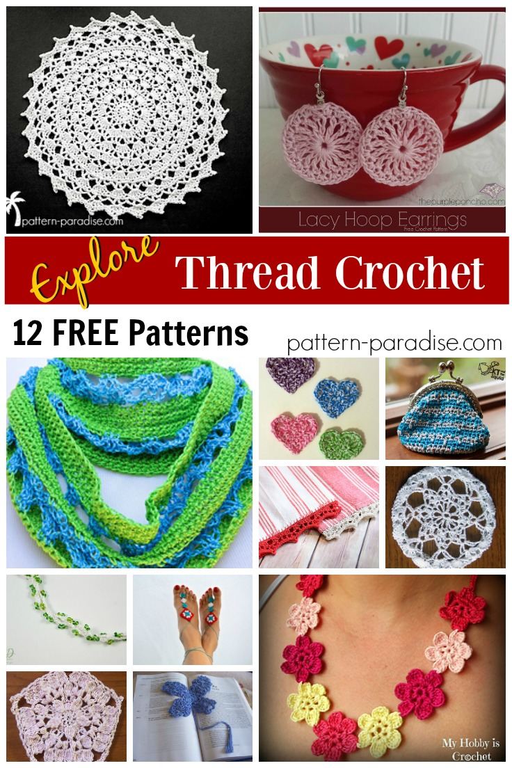 Facebook Crochet Patterns : Crochet Finds: Thread Crochet Pattern Paradise