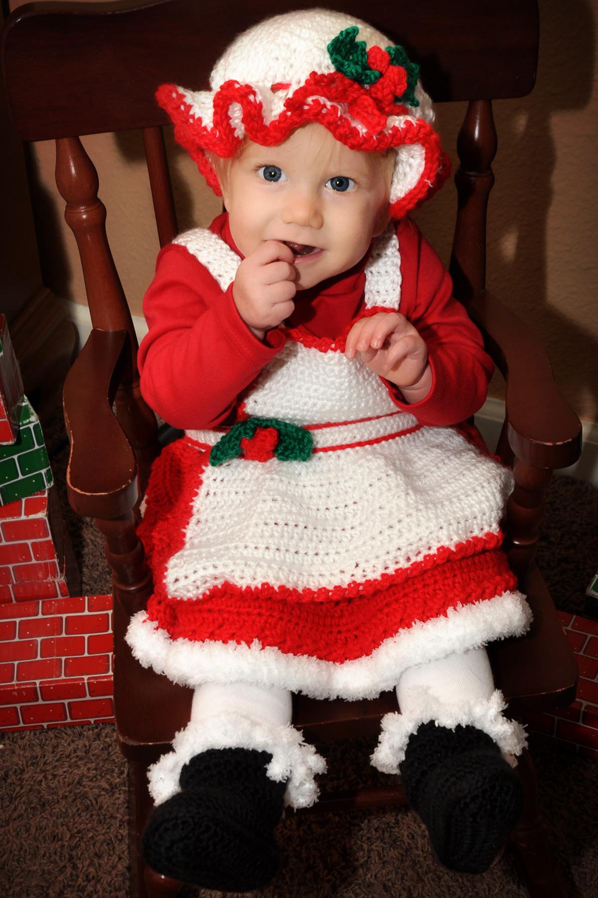 Missy Claus Crochet Skirt Set Pattern Paradise