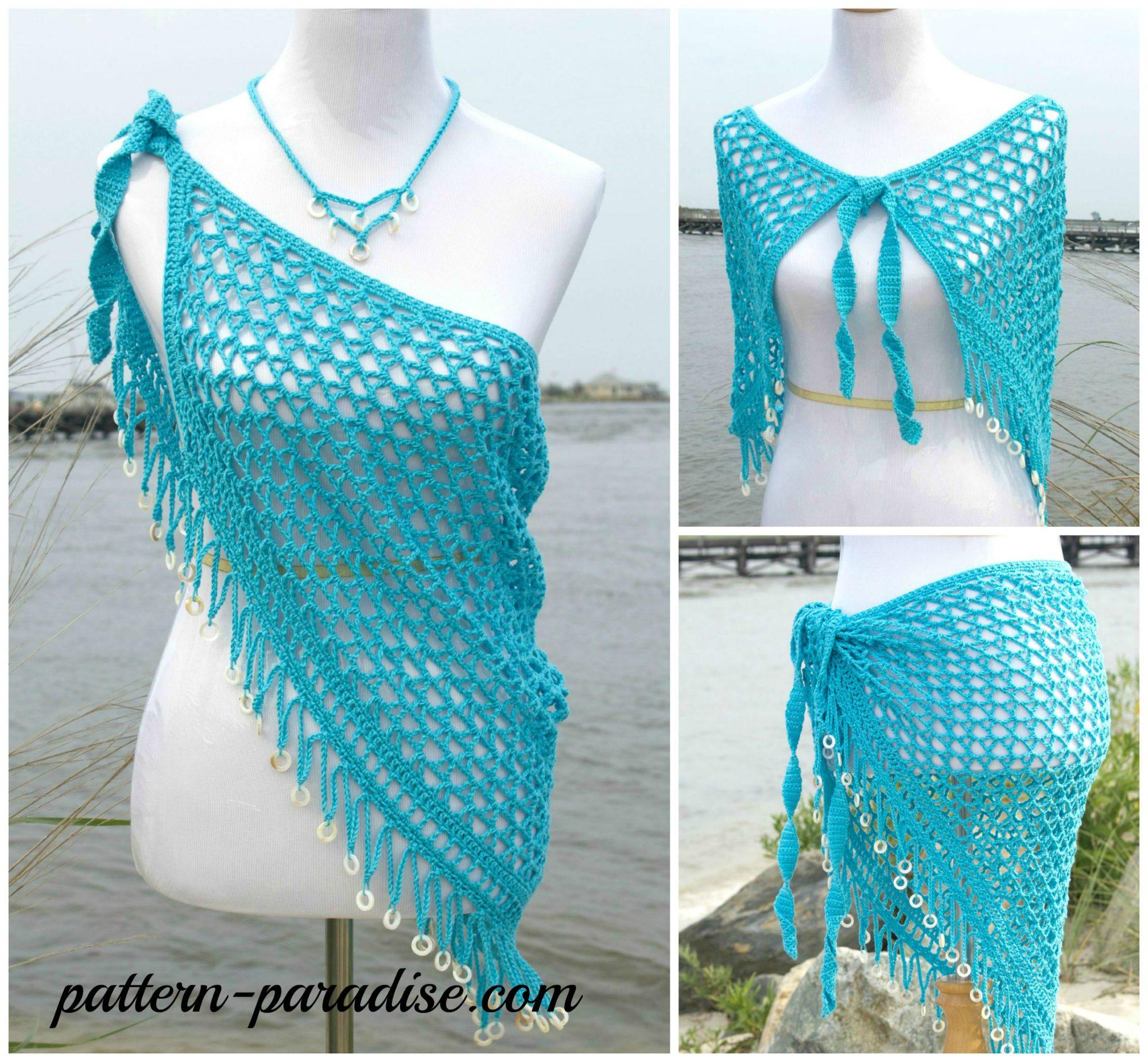 Crochet Pattern Reggae Dreams Wrap Amp Shawl Pattern Paradise