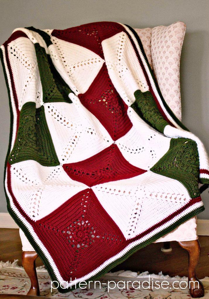 Rosary Hill Blanket Crochet Along Cal Pattern Paradise