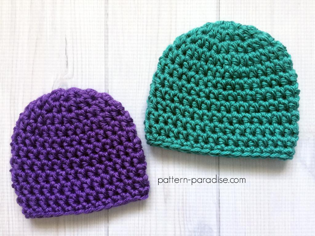 Free Crochet Pattern: Easy Preemie Hat